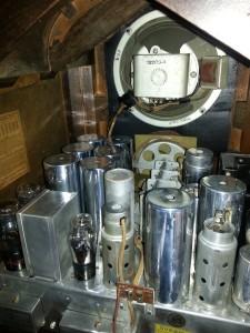 RCA 143 wnętrze