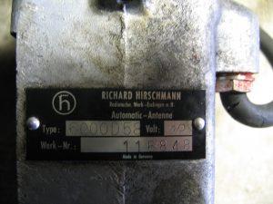 hirschmann tabliczka